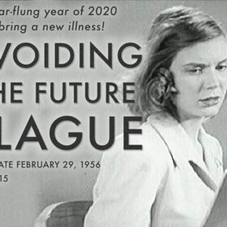 VIDEO YOU HAVE GOT TO SEE THIS A 1956 FILM CLIP AVOIDING THE FUTURE PLEAGUE  LISTEN TO THE PREDICTION IT MADE FOR THE YEAR 2020