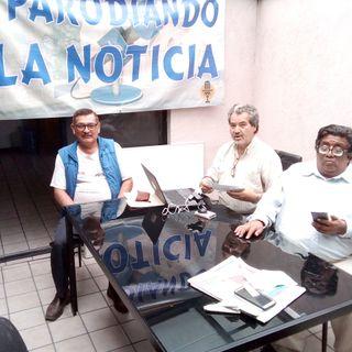 PARODIANDO 21/06/19. 2a VISITA del Lic. PEDRO MORALES promotor del AMPARO contra el DAP