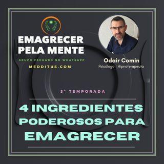 #26 | 4 Ingredientes Poderosos para Emagrecer | Odair Comin