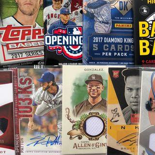 Las mejores y mas costosas tarjetas beisbol (SHOW EN VIVO)