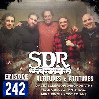 David Ellefson, Frank Bello & Mike Finoia (Megadeth, Anthrax & Comedian) - Altitudes & Attitudes