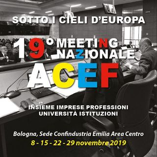 "19° Meeting ACEF ""Sotto i cieli d'Europa"""