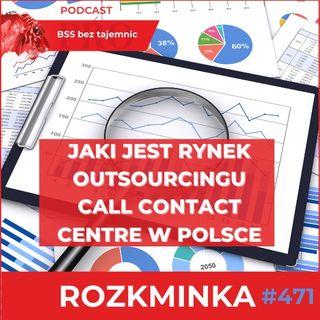 #471 Jaki jest rynek Outsourcingu Call Contact Centre w Polsce?