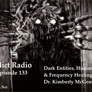 Episode 133  Dark Entities, Human Discarnates & Frequency Healing with Dr.Kimberly McGeorge
