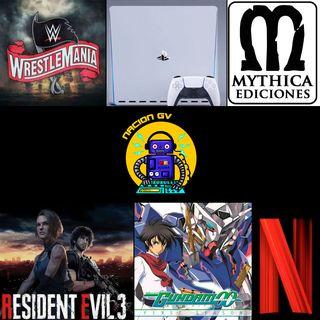 Noticias tristes, Wrestlemania parte 2 y noticias de PS5 - 12 de abril