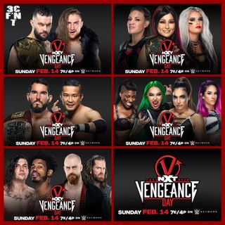 NXT TakeOver Vengeance Day Predictions