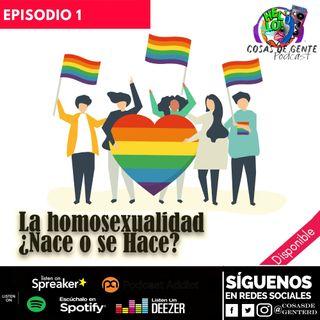 La homosexualidad ¿se nace o se hace?