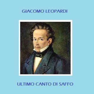 Giacomo Leopardi - Ultimo Canto Di Saffo