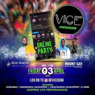 Fullklipp Ent Live @ Vice Online Ig Party PT 2