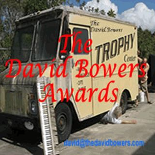 TheDavidBowersAwards with Raspin Stuwart and Mikalyn Hay