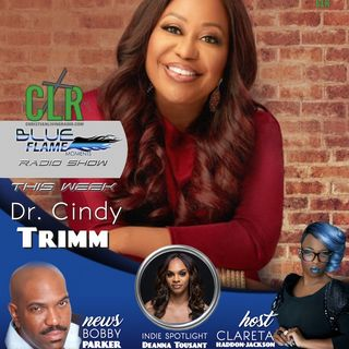 Blue Flame Radio Dr. Cindy Trimm