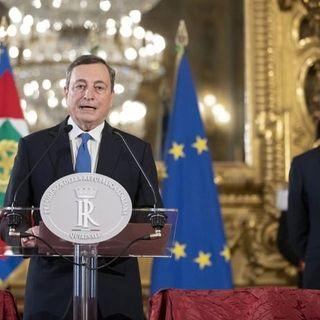 """Draghi in Libia: """"Ricostruire un'antica amicizia e aumentare interscambio"""""""