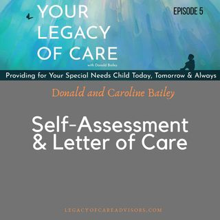 Self-Assessment and Letter of Care