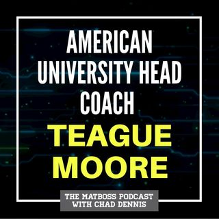 American U. head coach Teague Moore