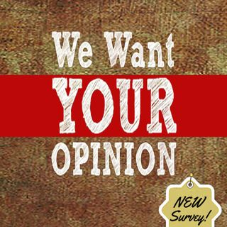 Would You Please Take Our Survey?