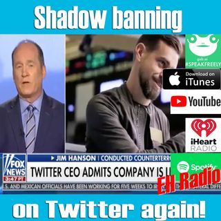 Morning moment Shadow banning on twitter Contd Oct 5 2018