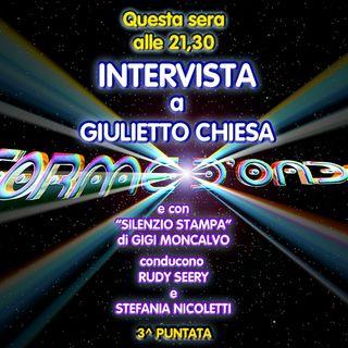 """Forme d'Onda - """"Silenzio Stampa"""" di Gigi Moncalvo: Conte e il Vaticano / Fusione Fiat-Peugeot - 3^ puntata (31/10/2019)"""