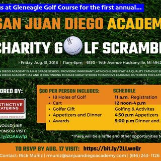 Rick Muniz of San Juan Diego Academy Golf Fundraiser 2018