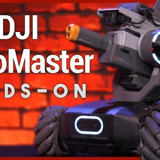 Hands-On Tech: DJI RoboMaster S1 First Look - STEM Battle Robot