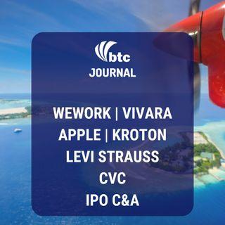 Vivara, Apple, Kroton e Cogna, Levi Strauss, CVC e IPO da C&A | BTC Journal 09/10/19