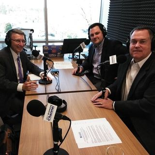 Ed Crowell and Nathan Goolsby of Georgia Motor Trucking Association on Business Developers Network