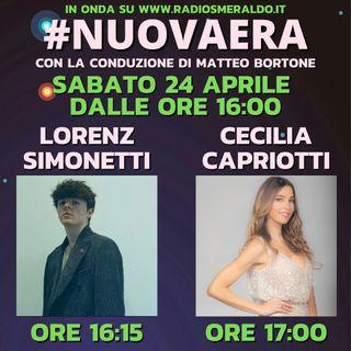 #NUOVAERA con Lorenz Simonetti e Cecilia Capriotti