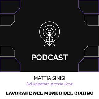 L'esperienza nel coding di Mattia Sinisi
