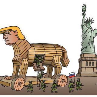 #Trump THE ULTIMATE TROJAN HORSE