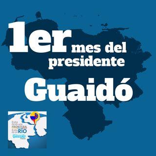 Primer mes del Presidente Guaidó