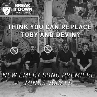 New Emery Song Premiere Minus Vocals (Ep 129)