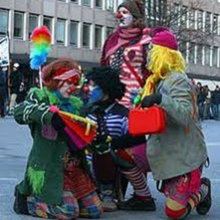 clowns.......the word for today