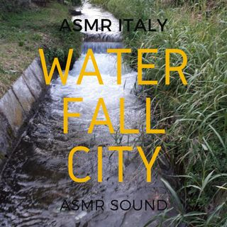 Water Falls in the City Traffic ASMR