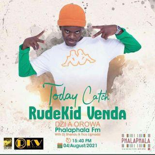 RudekidVenda Phalaphala interview