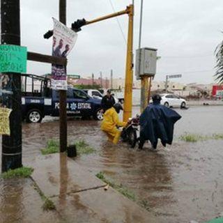 Continuarán las lluvias torrenciales en Sinaloa