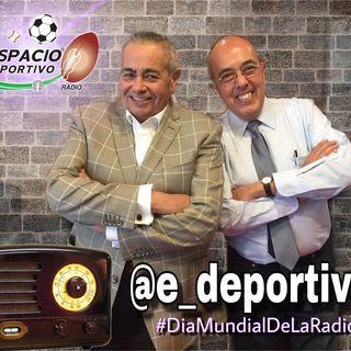 Celebrando el día mundial de la Radio en Espacio Deportivo de la Tarde 13 de Febrero 2019