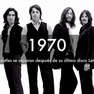 un día como hoy pero de 1970, The Beatles se separan