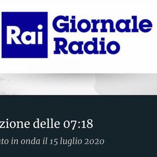 RAI GIORNALE RADIO 15/07/20