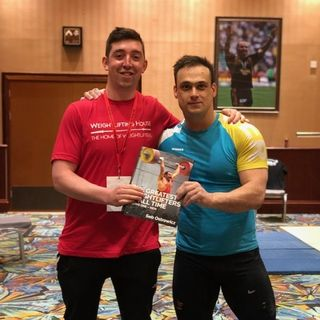 Hanging Out with Ilya Ilyin, Mart Seim, Chumak, and the Chinese Team | Recap
