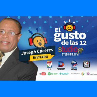 El Gusto de las 12- Episodio 64- 26 Septiembre-2019 Joseph Caceres