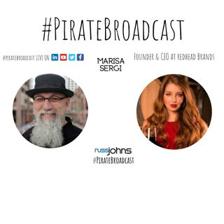 Catch Marisa Sergi on the PirateBroadcast