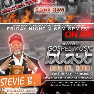 (Episode 33) - Stevie B's Acappella Gospel Music Blast