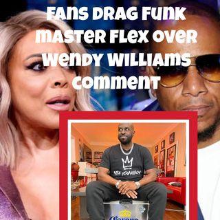 Fans Drag Funk Master Flex For Defending Kelvin Hunter