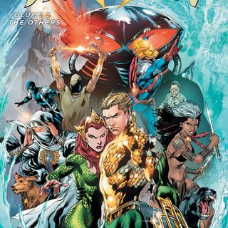 "Source Material #202 - Aquaman ""The Others"" (DC, 2012)"
