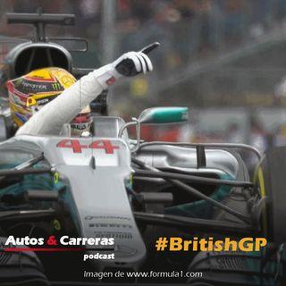 F1 British GP, 4 para Hamilton