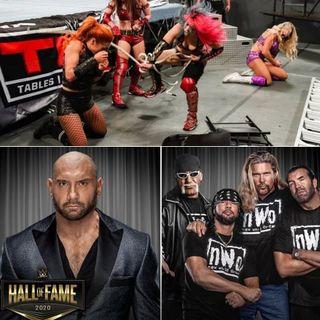 Recap of WWE TLC, 2020 Hall of Fame