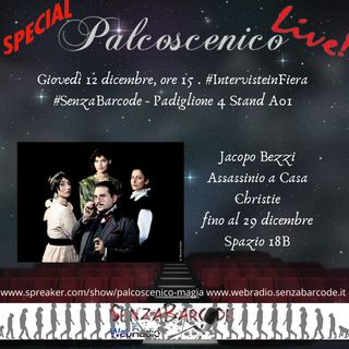 #Palcoscenico Live! da Arti e mestieri con Jacopo Bezzi