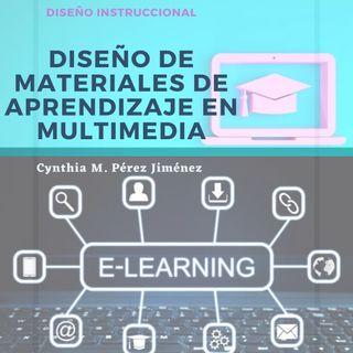 """Diseño de materiales de aprendizaje en multimedia"""