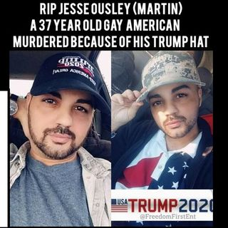 Confirmed by his father: Jesse Ousley was wearing a MAGA hat when he was murdered