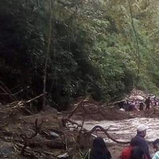 Lluvias dejan daños en 10 comunidades de Oaxaca