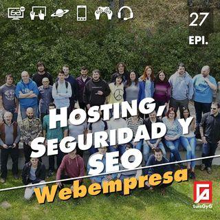 Hosting, seguridad y SEO con WebEmpresa.